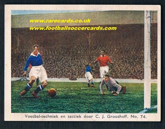 1934 Groothoff Chelsea Liverpool Dutch